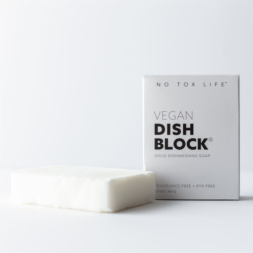 Eco Friendly Vegan Dish Block