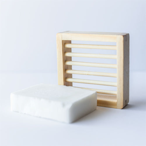 Wooden Soap Dish - Light