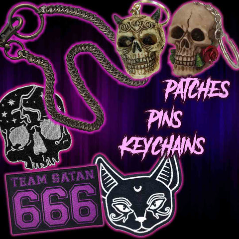 Patches, Pins & Key Chains