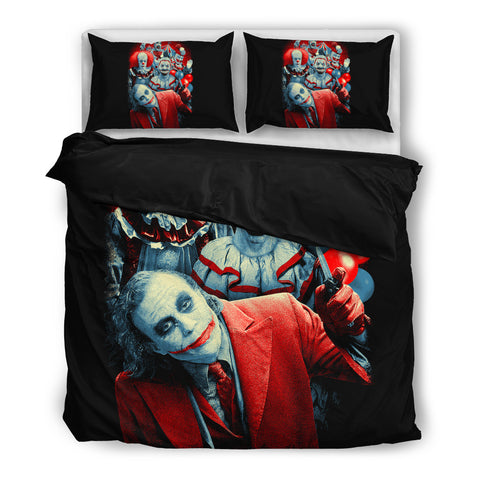 Brutal Clowns Bedding Set