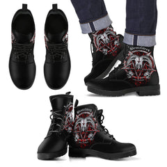 View Image of Brutal Baphomet Men's Leather Boots