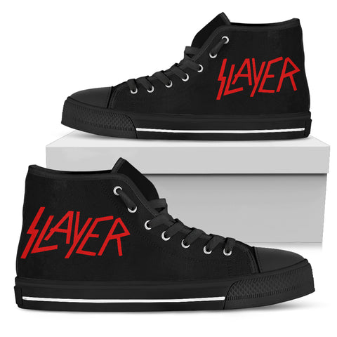 Slayer Women's High Top Canvas Shoe