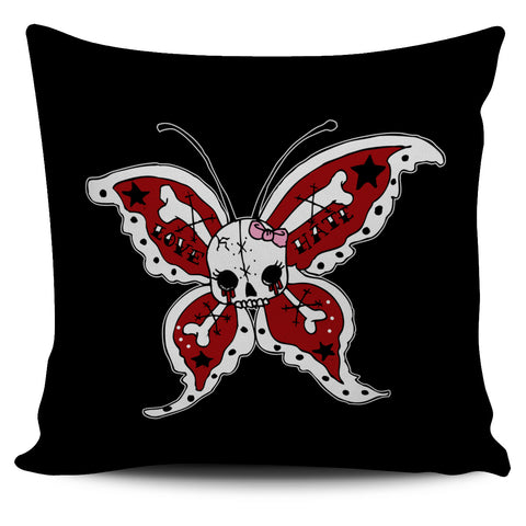 Brutal Butterfly Pillow Cover
