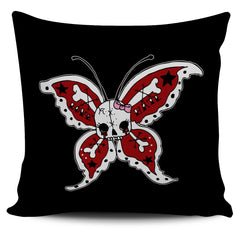 Another view of Brutal Butterfly Pillow Cover