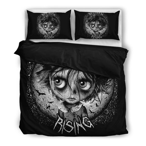 Bat Moon Rising Bedding Set