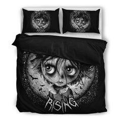 Another view of Bat Moon Rising Bedding Set