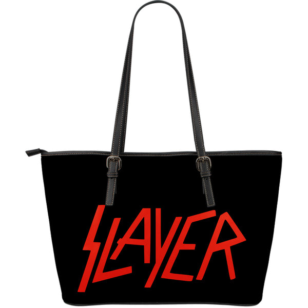 Slayer Large Leather Tote Bag