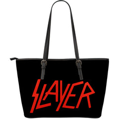 Another view of Slayer Large Leather Tote Bag