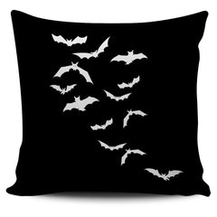 Another view of Bats Pillow Cover