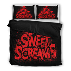 Another view of Sweet Screams Bedding Set