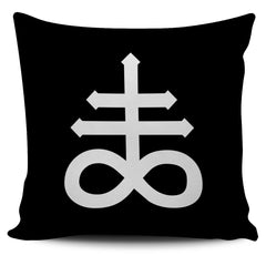 Another view of Leviathan Cross Pillow Cover