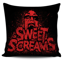 View Image of Sweet Screams Pillow Cover