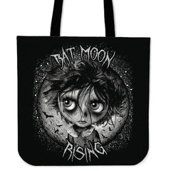 Another view of Bat Moon Rising Tote Bag