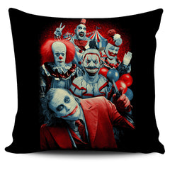 View Image of Brutal Clowns Pillow Cover