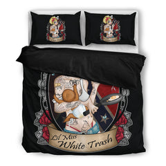 View Image of Lil Miss White Trash Bedding Set