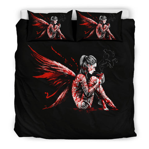 Pipe Girl Bedding Set
