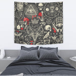Black Occult Tapestry