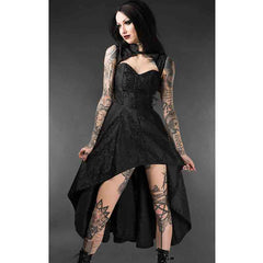 View Image of Onyx-steel-choker-dress-1_S2IPBTO5ANB3.jpg