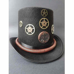 View Image of Steampunk-Gear-Top-hat_RYFAPLCOWR6H.JPG
