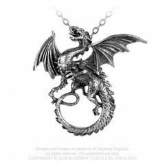 View Image of The-whitby-wyrm-necklace-1_S5L8QJCHFOMI.jpg