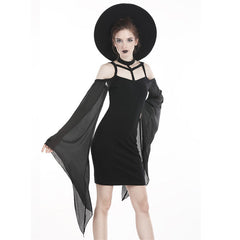 View Image of Tulle-sleeve-dress-1_S3WREYYCXN0U.jpg