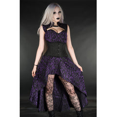 View Image of amethyst-steel-choker-dress-1_RVC01R9D96RO.jpg