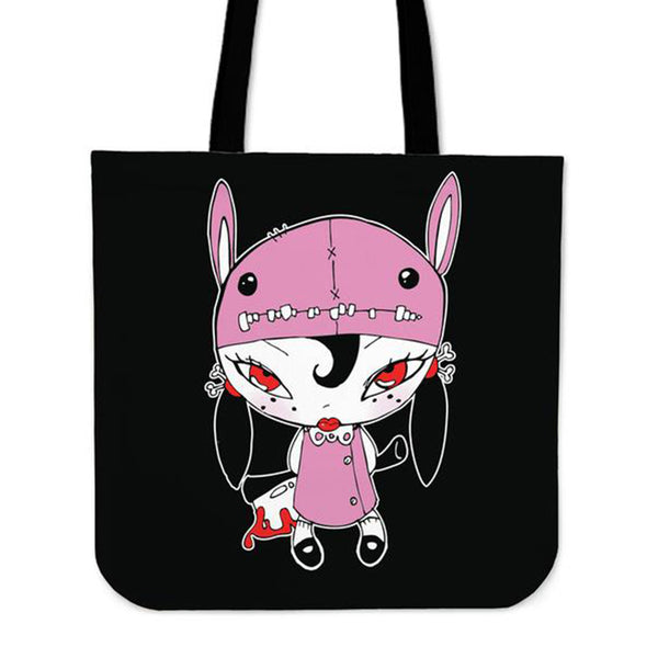 Axe Girl Tote Bag
