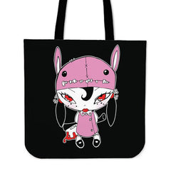 Another view of Axe Girl Tote Bag