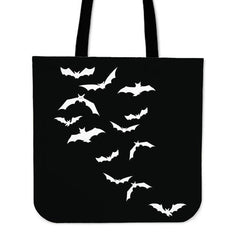 Another view of Bats Tote Bag