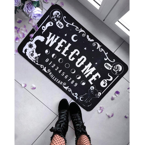 Cute and Spooky Doormat