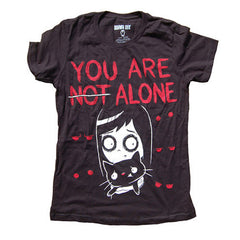 View Image of not-alone-ladies-tshirt_RIFEWATUHCT6.jpeg