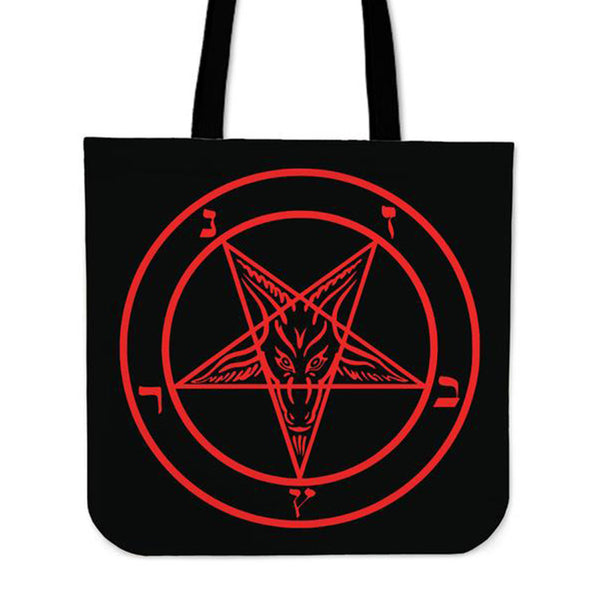 Sigil of Baphomet Tote Bag