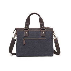 MB 8803  Davan.   SHOULDER BAG W LEATHER TRIM