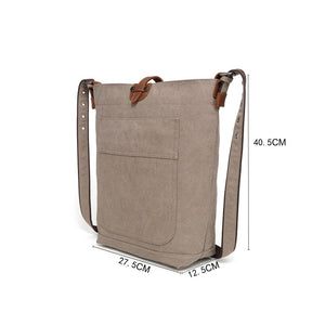 [SB508DAVAN] CANVAS SHOULDER BAG