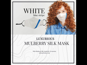 OCEAN  Primal LUXURY SILK MASK