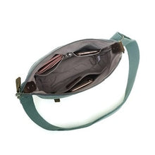 Load image into Gallery viewer, SB 568 Davan  CANVAS SHOULDER BAG W LEATHER TRIM