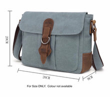 Load image into Gallery viewer, SB544DAVAN CANVAS SHOULDER BAG