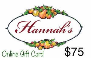 Hannah's of Erin Gift Card