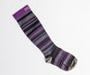 Image of Purple/Gray Striped