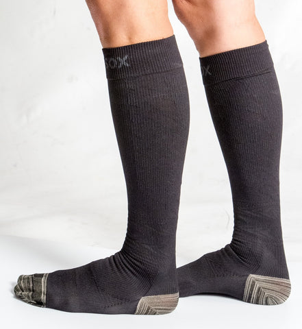 Classic Black Athletic Sox