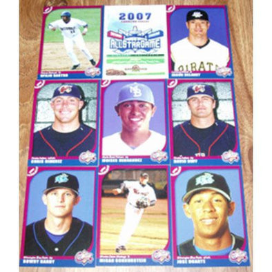 Modesto Nuts Modesto Nuts 2007 Carolina League All-Star Set