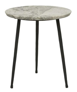 Ridge Marble Side Table - River
