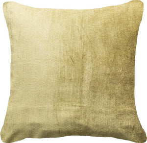 Velvet Lounge Cushion - 55cm - Olive
