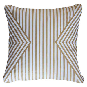 Parasol Lounge Cushion - White Gold - 55cm