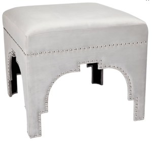 Regal Stool - Silver