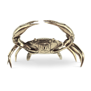 Mr Pinchy Brass Sea Crab - Small