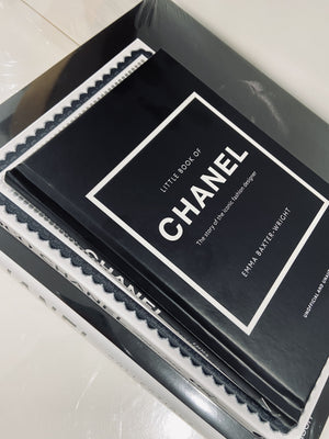 Chic Chanel Style Books - Set/3
