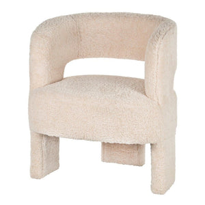 Forma Armchair - Ivory Boucle