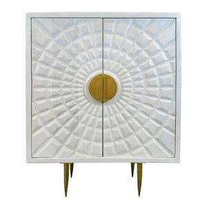 Abby Cabinet - White