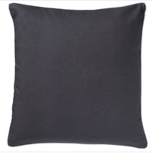 Basic Charcoal Cushion - Square